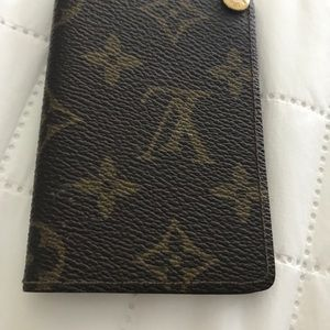 Vintage mint LV authentic credit card holder